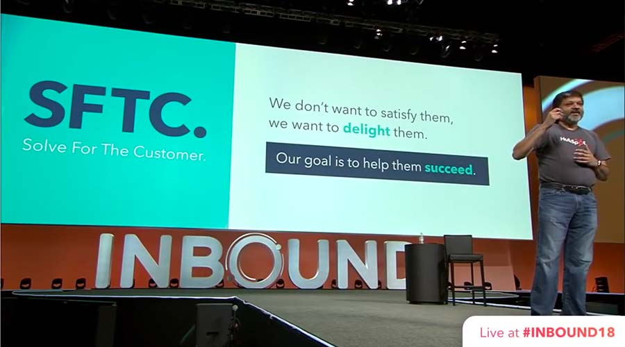 Dharmesh Shah keynote at INBOUND 2018