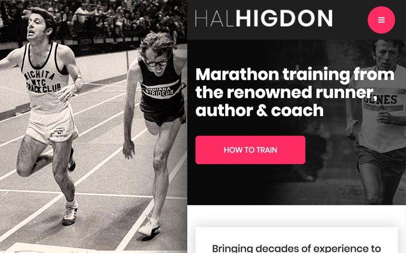 Our Work - Hal Higdon