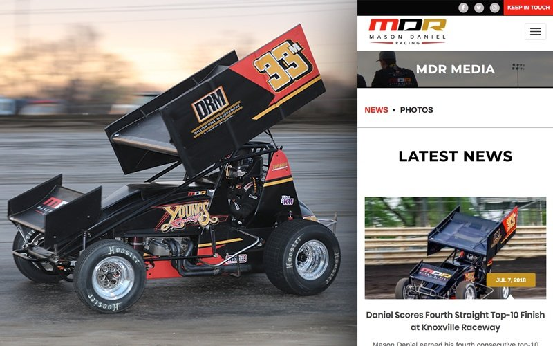 Our Work - Mason Daniel Racing